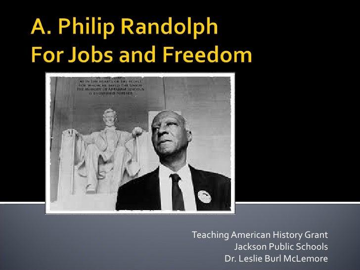 Teaching American History Grant          Jackson Public Schools       Dr. Leslie Burl McLemore