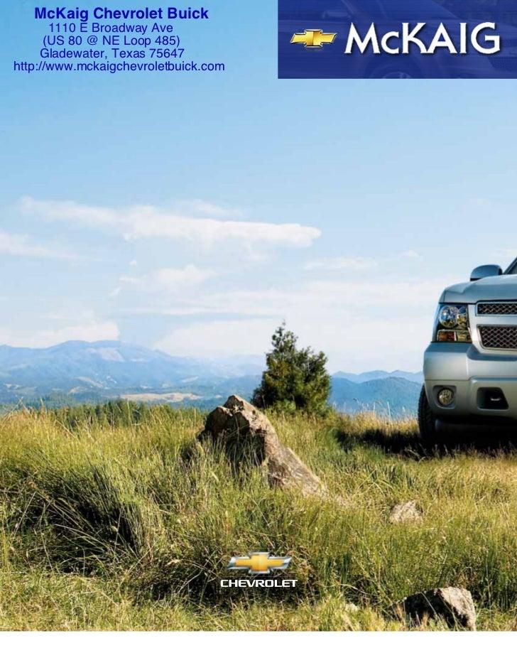2011 Chevrolet Tahoe for Sale Longview Texas - McKaig Chevrolet