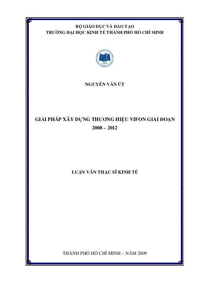 Tailieu.vncty.com   giai phap xay dung thuong hieu vifon giai doan 2008 - 2012