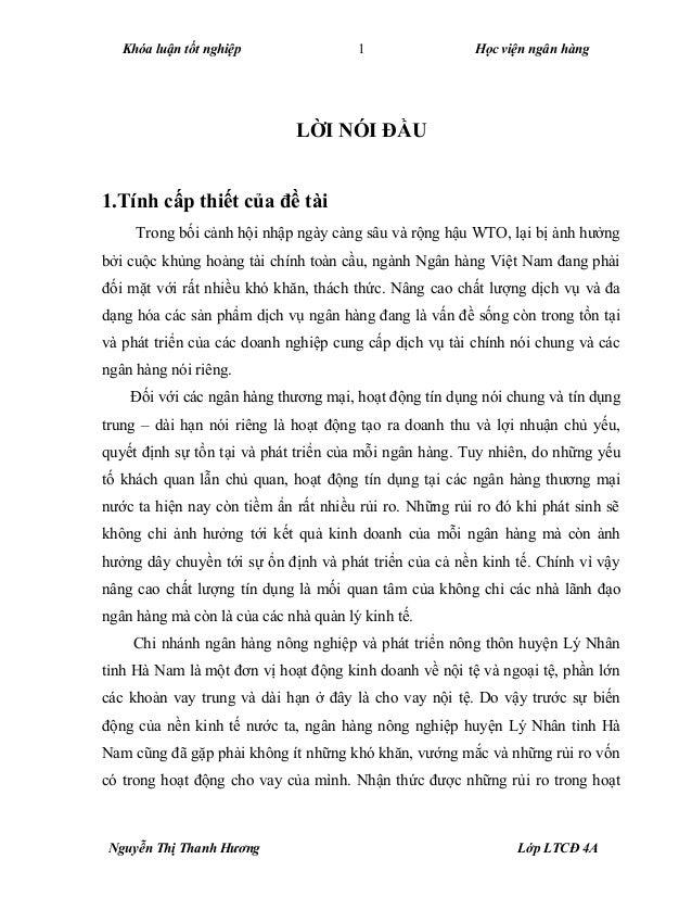 Tailieu.vncty.com   luan-van-nang-cao-chat-luong-tin-dung