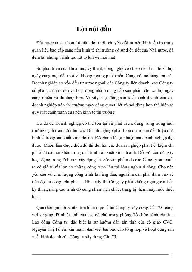 Tailieu.vncty.com   bao cao thuc tap tai cong ty xay dung cau 75
