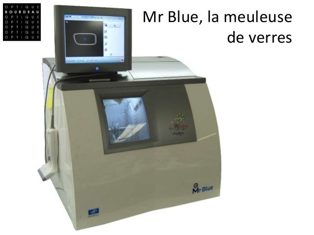 Mr Blue, la meuleuse de verres