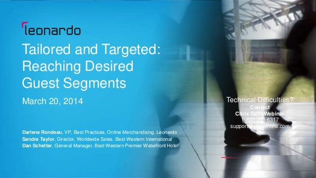 Tailored and Targeted Webinar
