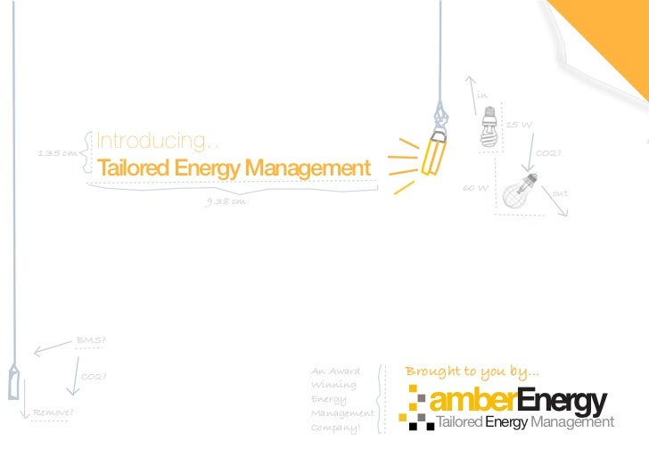 Tailored Energy Management Media Pack