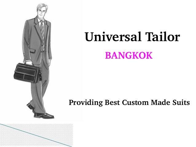 Tailor made suits bangkok