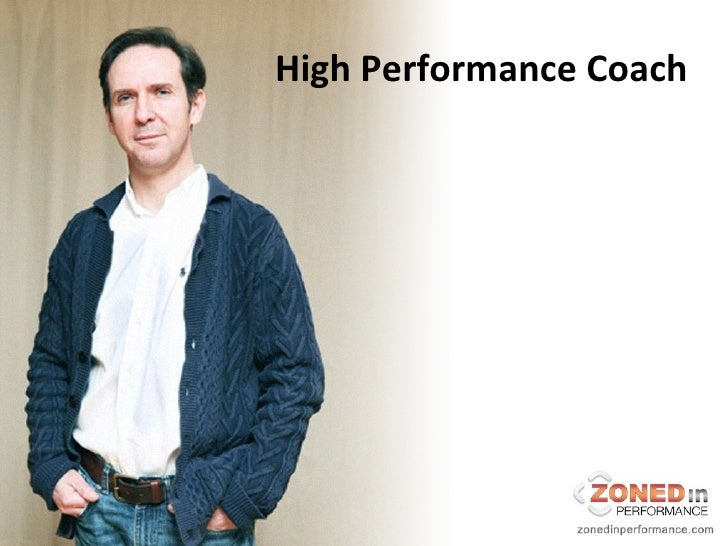 """Zoned In Performance """"High Performance Youth"""""""