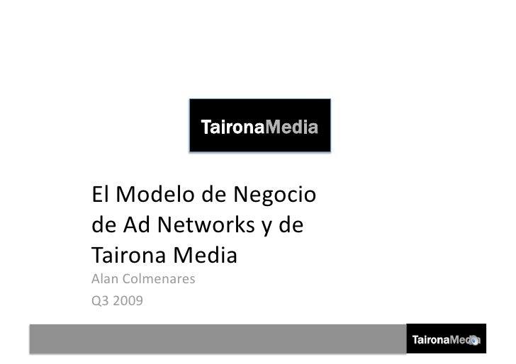 Modelo de Negocio de los Ad Networks