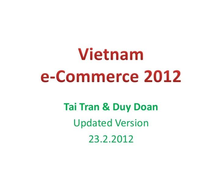 Tai Tran & Duy Doan  Updated Version      23.2.2012