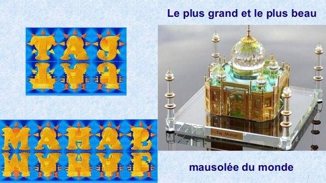 1 Le plus grand et le plus beau mausolée du monde