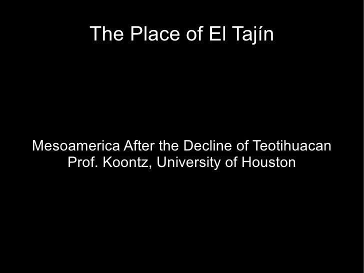 Tajin Part 1