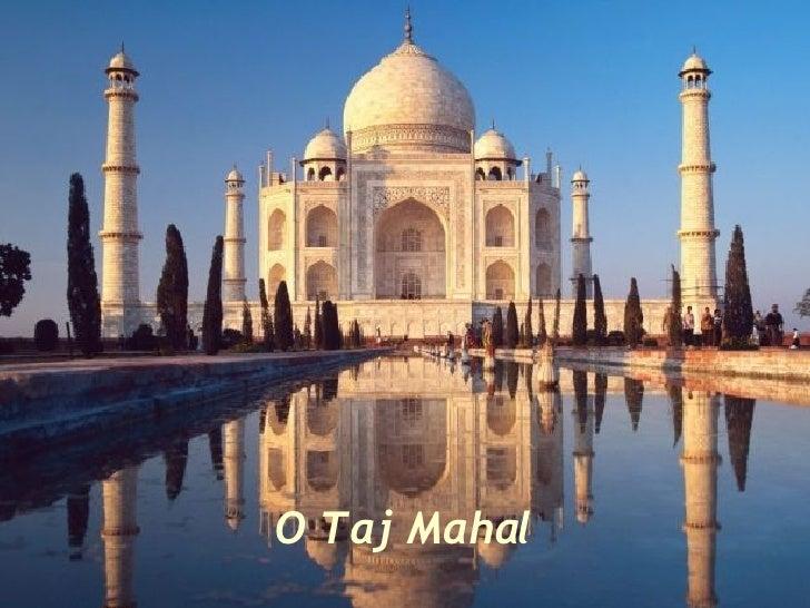 Taj Mahal O Tumulo Do Amor