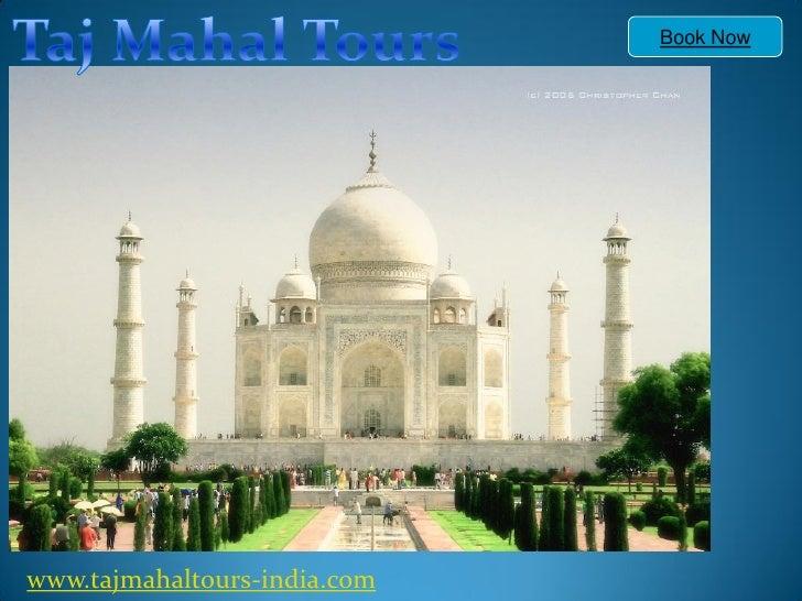 Taj mahal tour itinerary