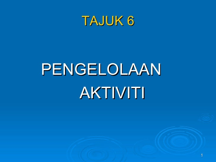 Tajuk 6 Slides