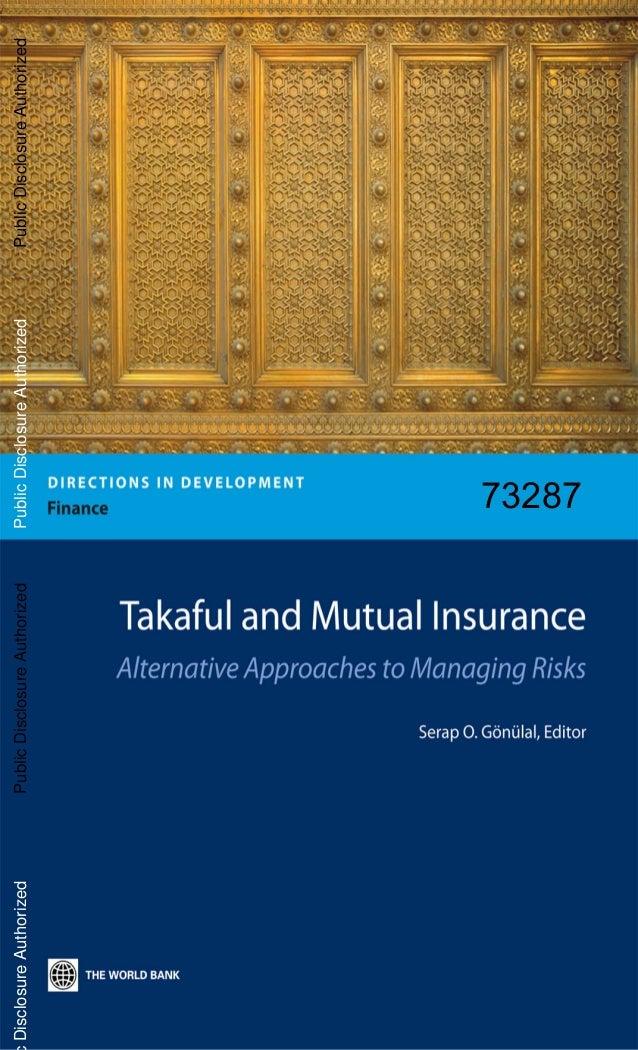 Takaful insurance (world bank)