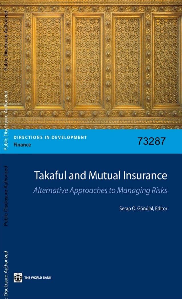 Takaful insurance (world bank)