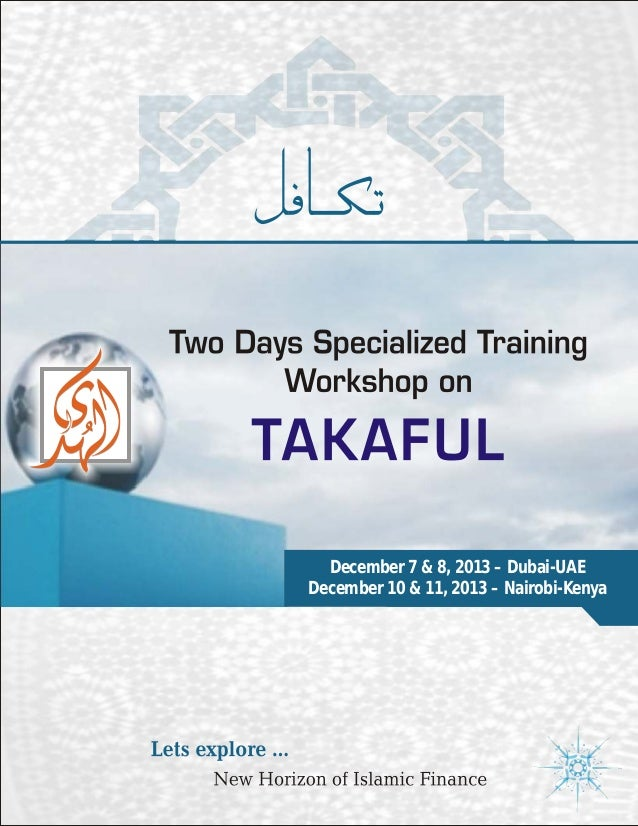 Two Days' Specialized Training Workshops on Takaful