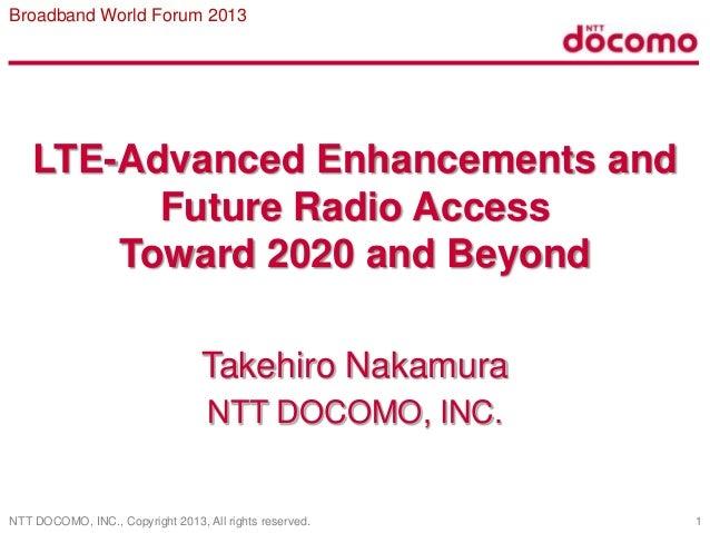 LTE-Advanced Enhancements and Future Radio Access Toward 2020