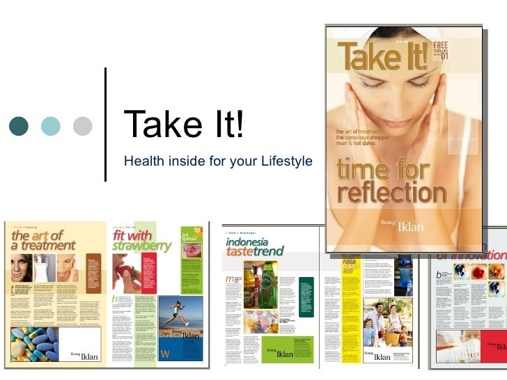 Take It! Health inside for your Lifestyle
