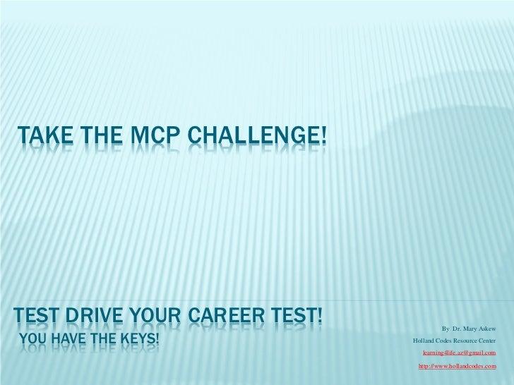 Take MCP challenge!