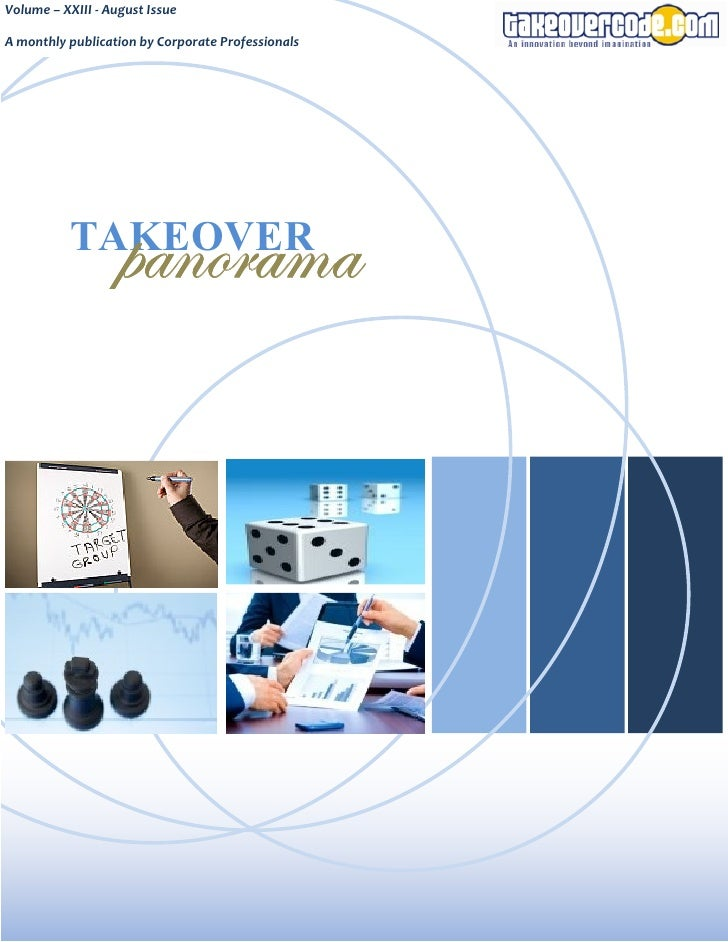 Takeover panorama   august issue - volume xxiii - 2008-08-07