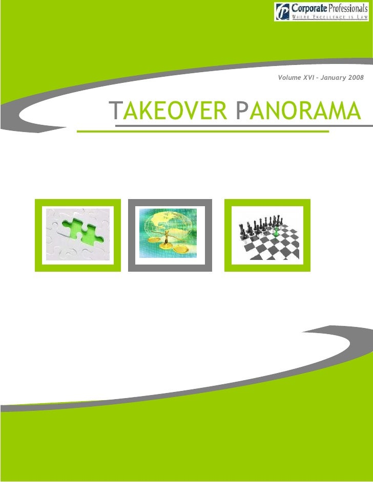 Takeover panorama   january 2008 - vol. xvi - 2008-01-04
