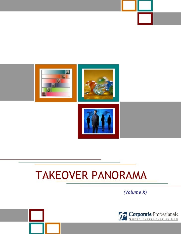 TAKEOVER PANORAMA              (Volume X)