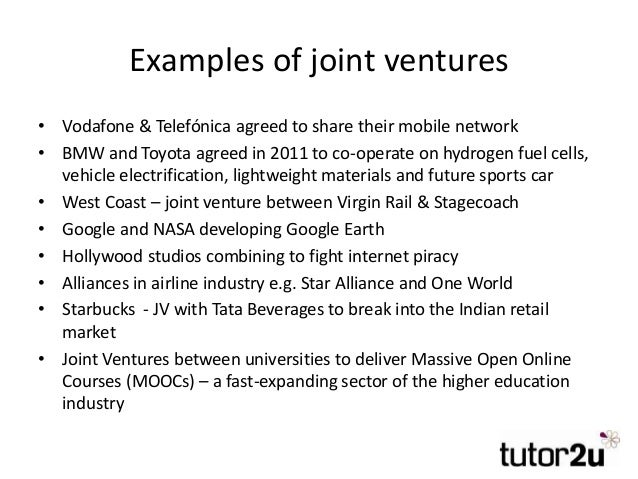 mergers and joint ventures 2 essay View essay - mergers and joint ventures from eco 365 at university of phoenix 1 mergers and joint ventures carla jones, christine thomas, chrystal tanner, and wayne sheppard eco/365 january.