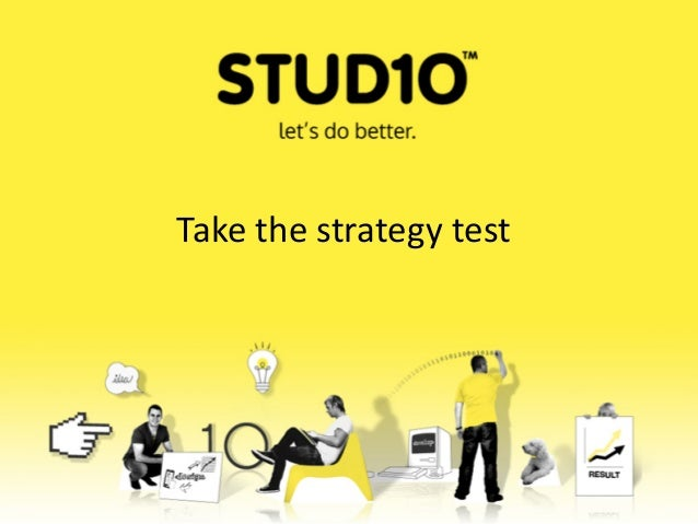 Take the strategy test
