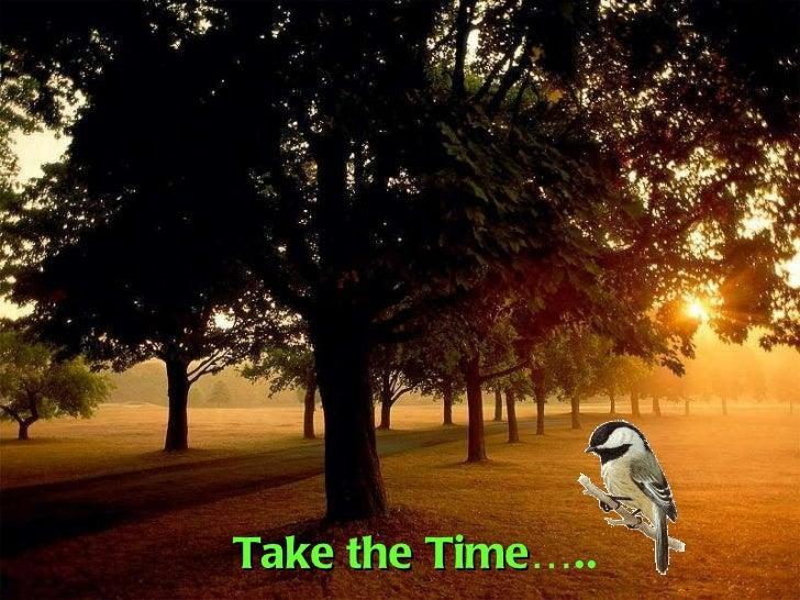 Takethetime
