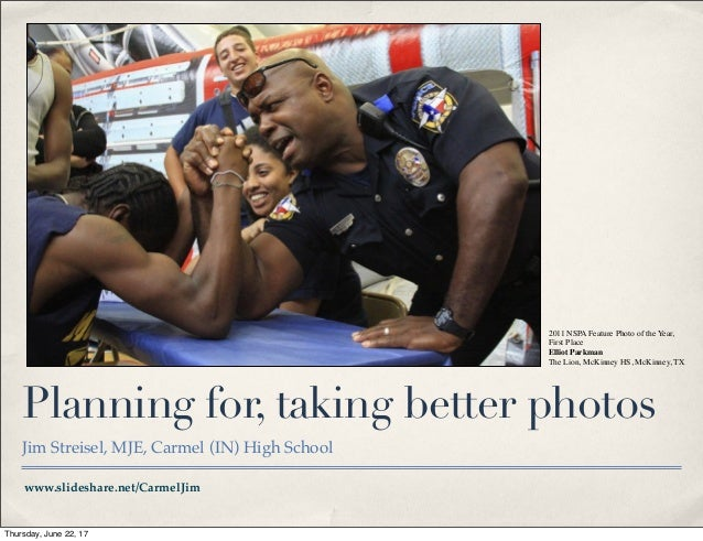 2011 NSPA Feature Photo of the Year,                                                 First Place                          ...