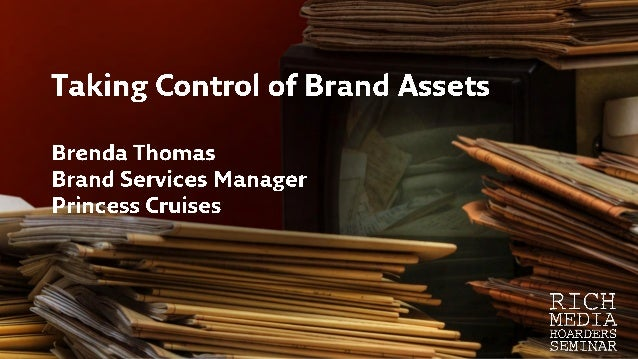 Taking Control of Brand Assets