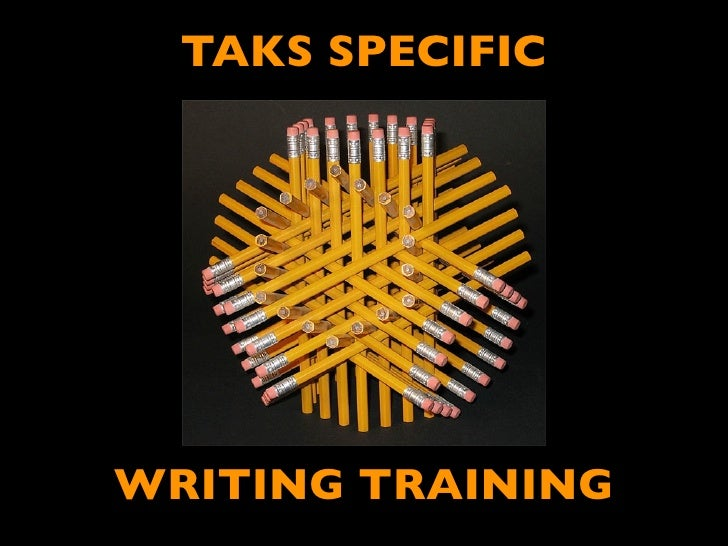 2011TAKS Writing Specific Training