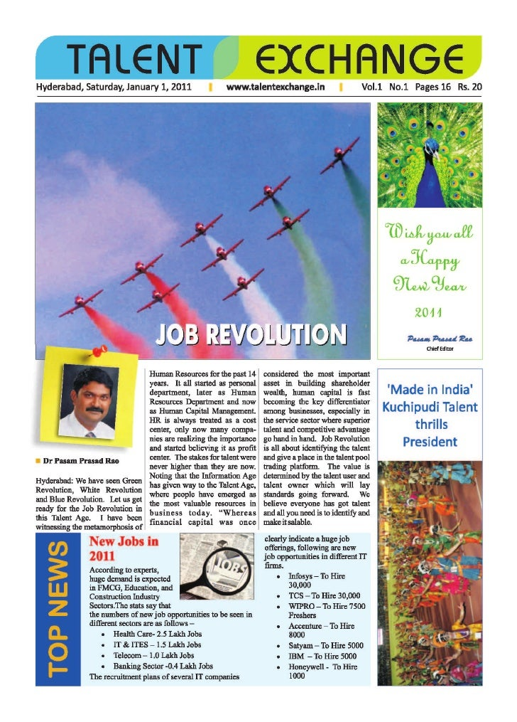 Talanet Exchange - Weekly Newspaper