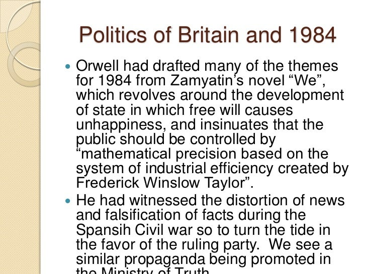 1984 thematic essay Below you will find four outstanding thesis statements / paper topics for 1984 by george orwell that can be used as essay thesis statement for 1984.