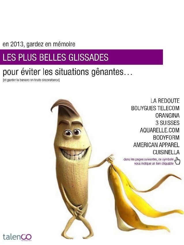 """TalenCo - Guide des """"glissades"""" 2012"""