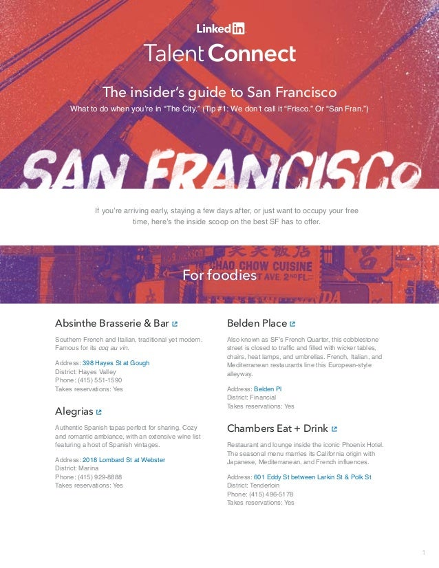 the insider guide san francisco
