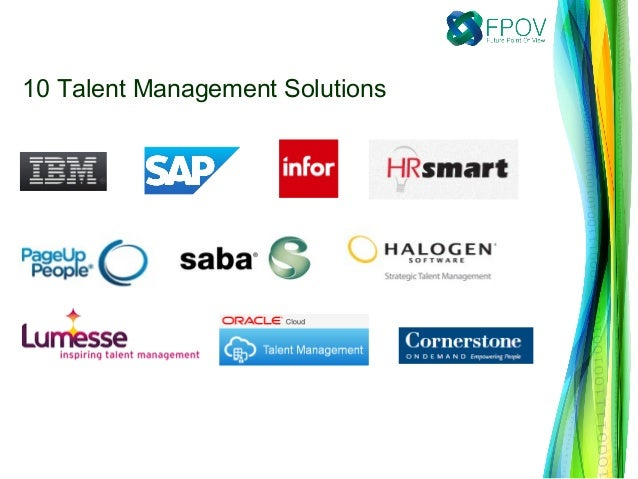 List of 10 Talent Management Solutions