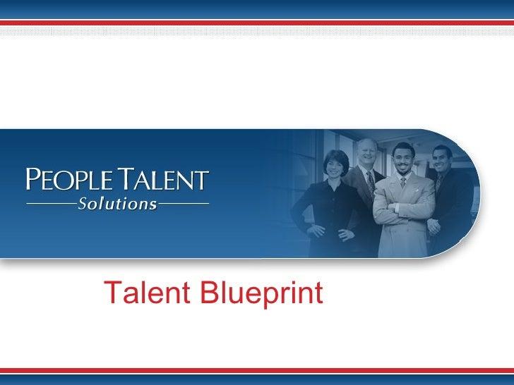 Talent Blueprint