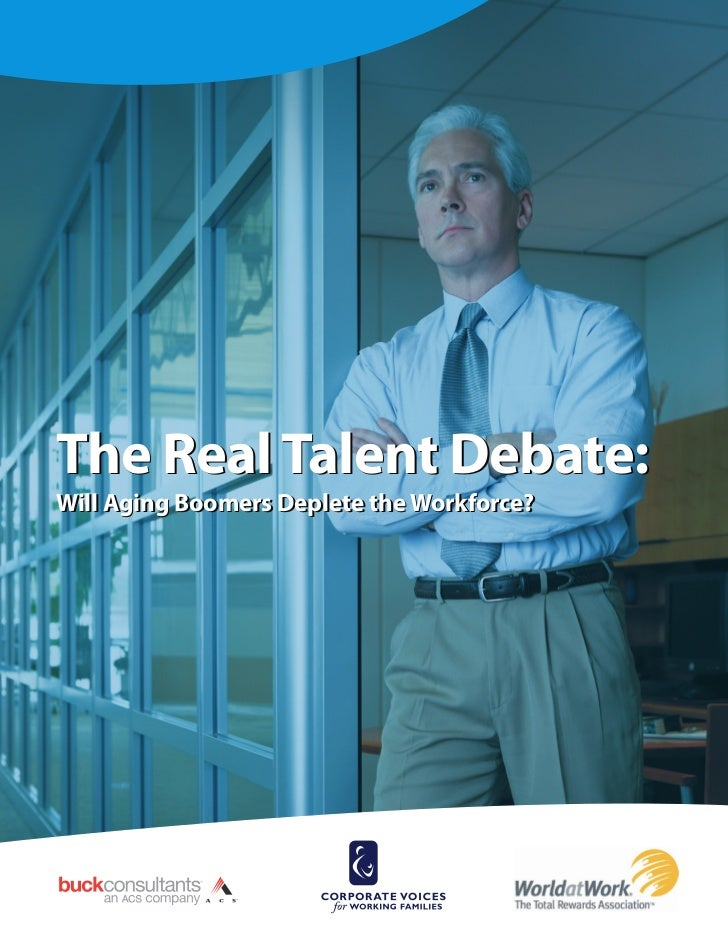 The Real Talent Debate:  Will Boomers Deplete the Workforce?