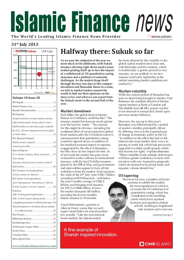 Talent Development in the Islamic Finance Industry--Is It Really Necessary? (pg30-31)