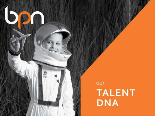 BPN's Talent DNA