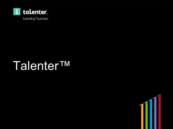 Talenter™<br />