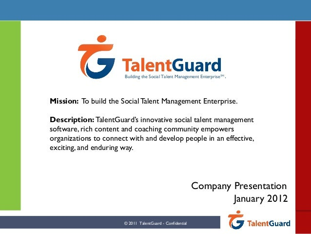 Talent Guard Overview