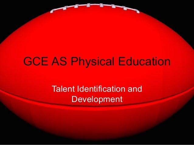 AS PE - Talent ID