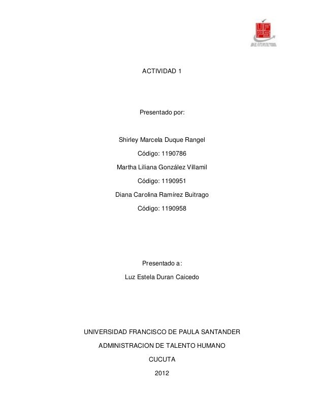 ACTIVIDAD 1                Presentado por:         Shirley Marcela Duque Rangel               Código: 1190786        Marth...