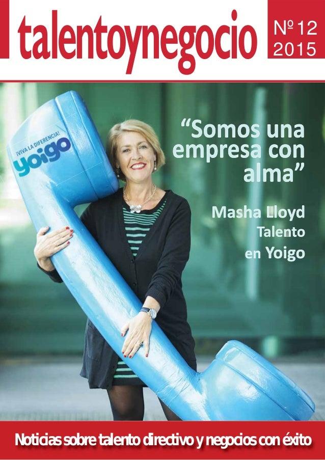 Noticias sobre talento directivo y negocios con éxito Nº12 2015
