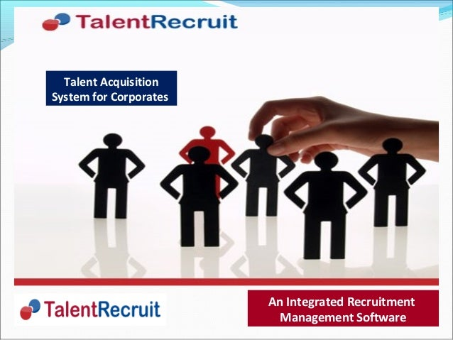 Recruitment Software- TalentRecruit: Industry's Best ...