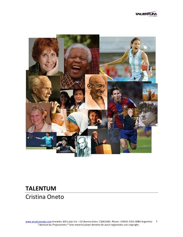 Todo sobre Talentum ®