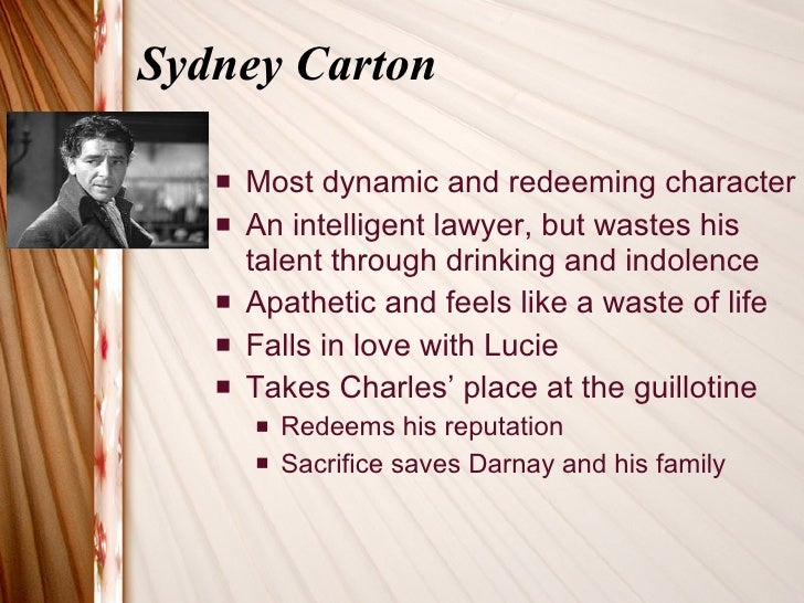 the sacrifice of sydney carton for charles darnay