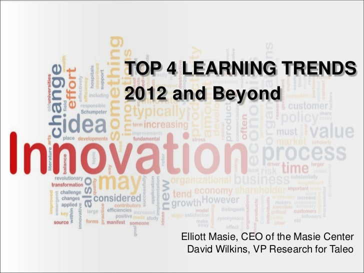 Top Four Learning Trends